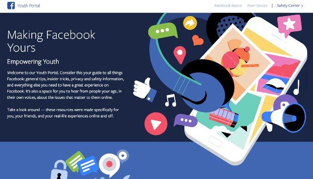 Facebook запускает «Молодежный портал» с советами по конфиденциальности для подростков