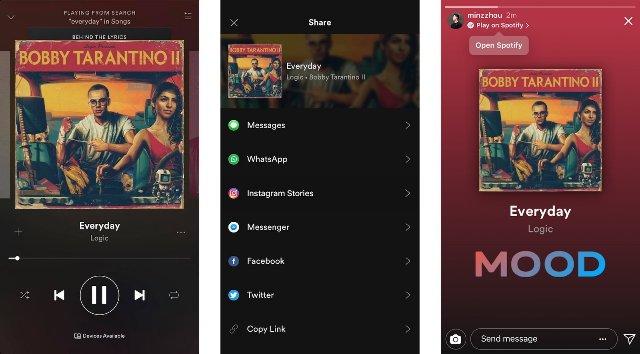 Instagram позволяет публиковать сообщения из других приложений