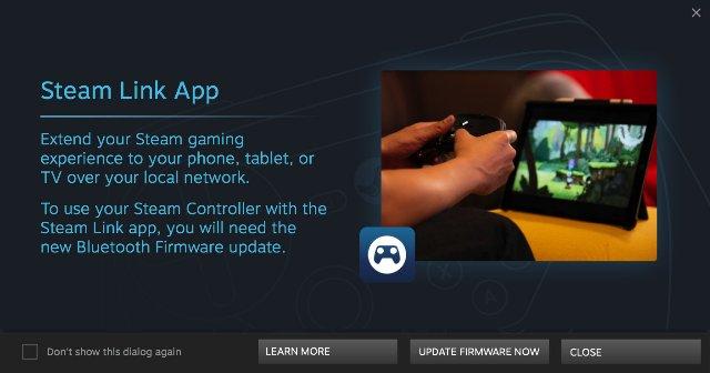 Valve переключается на мобильное соединение Steam Controller в бета-версии