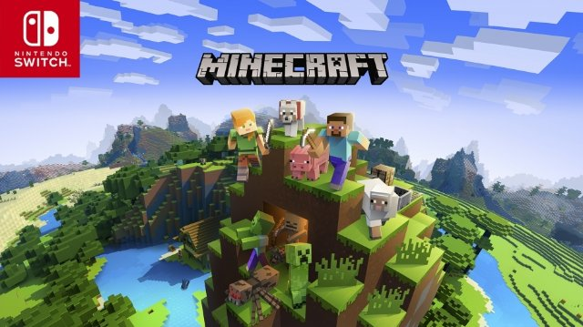 Обновление Minecraft дает кросс-платформенную игру для Nintendo Switch 21 июня