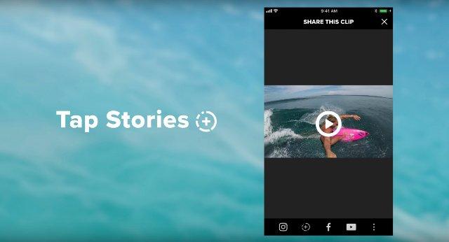 GoPro упрощает обмен видео в Instagram Stories