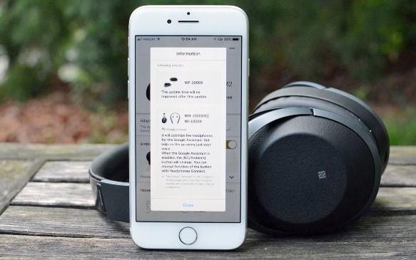 Sony упрощает использование Google Assistant на существующих наушниках