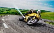 Реактивный двигатель Bosch вырывает ваш мотоцикл из заноса