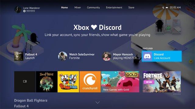 Xbox One позволит вам связать свою учетную запись с Discord