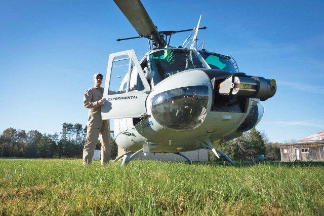 Автономный вертолет совершает первую оперативную доставку американским солдатам