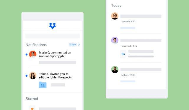 Мобильные приложения Dropbox упрощают поиск, отслеживание и совместное использование файлов