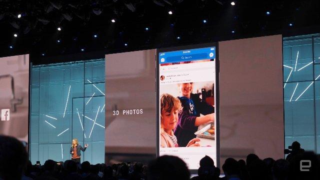 Пользователи Facebook смогут переводить обычные фотографии в 3D