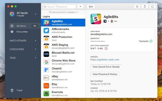 1Password выпускает свое самое большое обновление на Mac