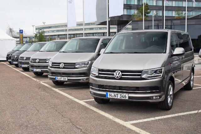 Apple объединяется с VW для создания автономных челночных фургонов