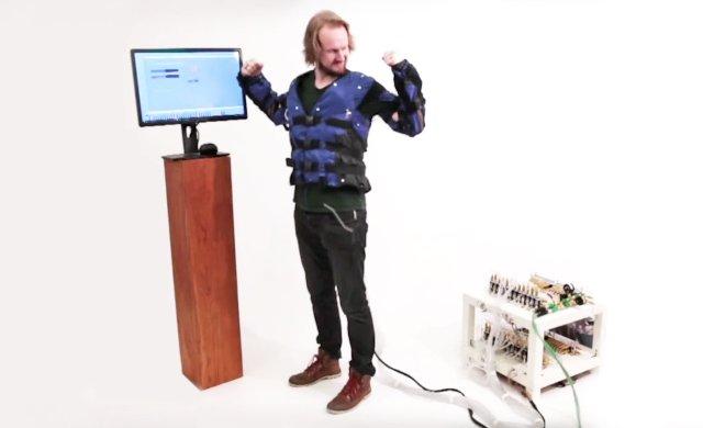 Прототип «Force Jacket» от Disney позволяет вам почувствовать каждый удар в VR