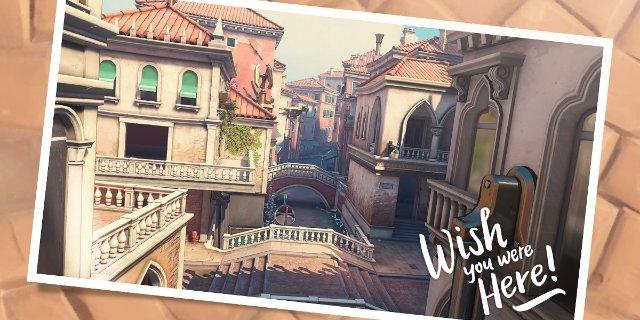 Новая карта «Overwatch» переносит битву на итальянские каналы