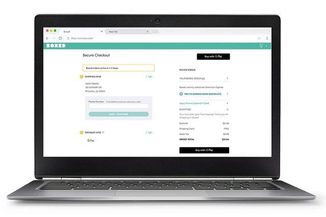 Google Pay находит свой путь в Интернете