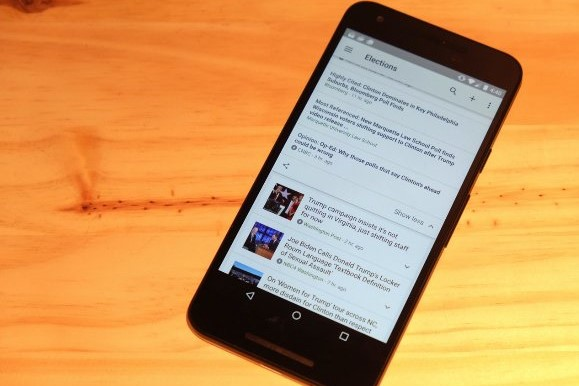 Сообщается, что Google будет обновлять Новости с помощью видео и настроек скорости