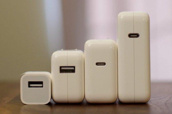 В сеть «слили» изображения быстрой зарядки от Apple