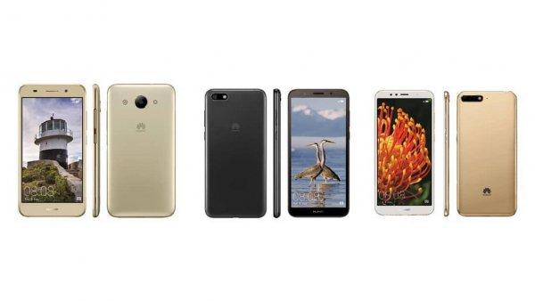Huawei оснастит доступный смартфон Y5 Prime дисплеем Full Screen