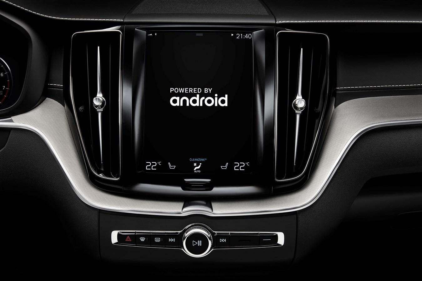 Новые Volvo полюбят сервисы Google