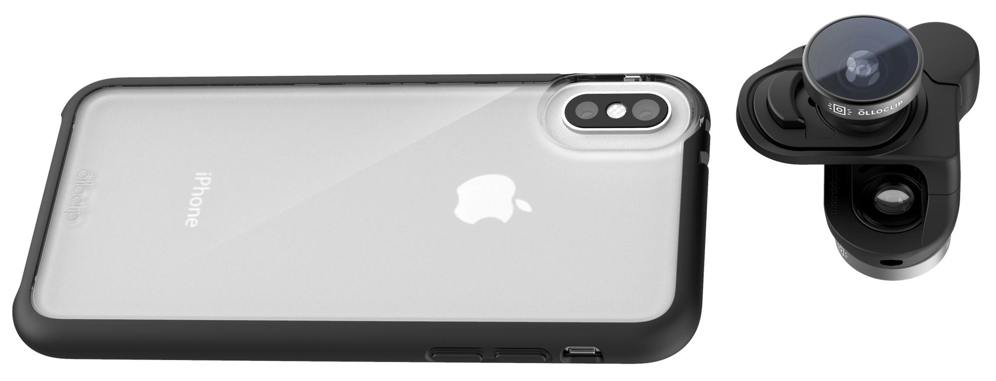 Аксессуар дня: набор объективов для iPhone X