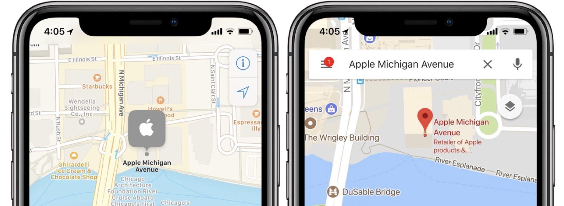 Apple улучшает свои карты с помощью дронов