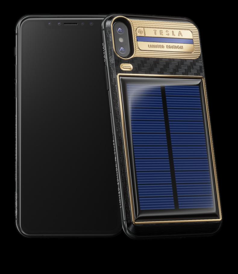 Российский iPhone с «бесконечной» зарядкой подарили Илону Маску