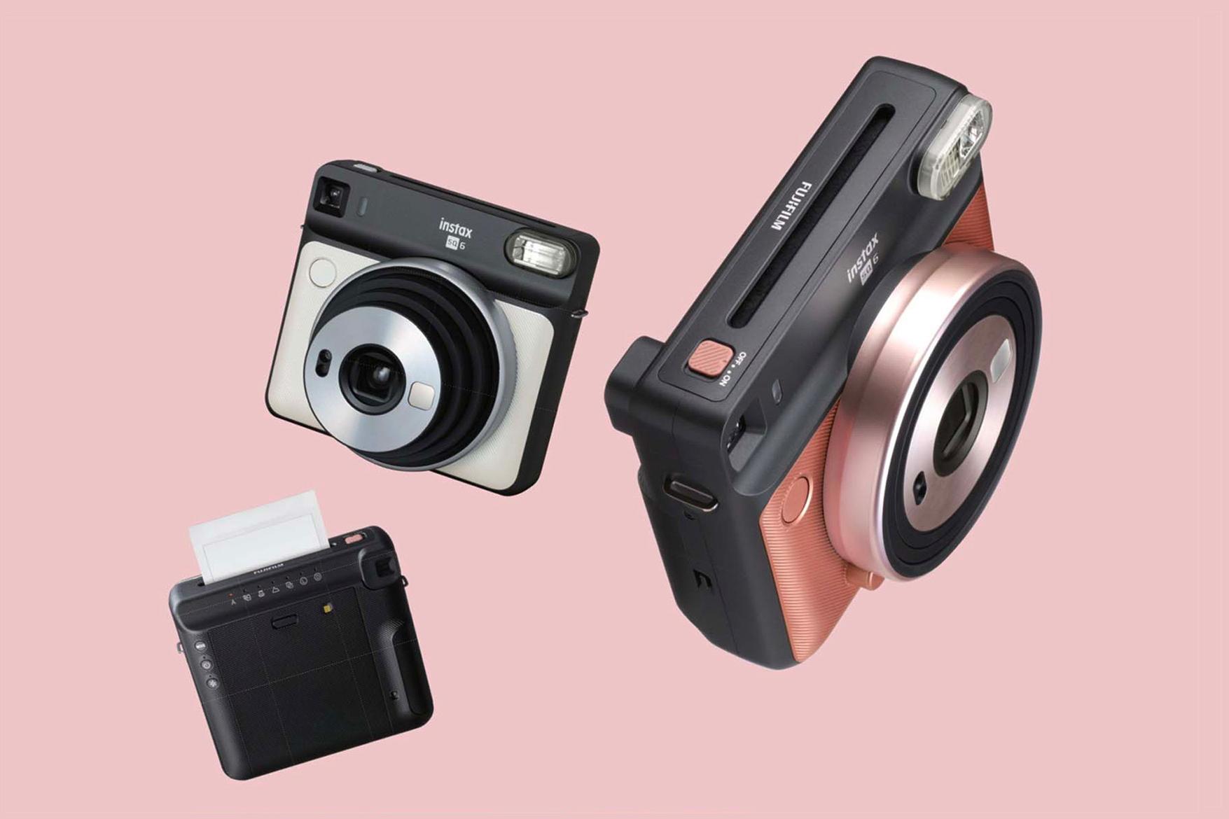Fujifilm SQ6: первая аналоговая камера для квадратных снимков