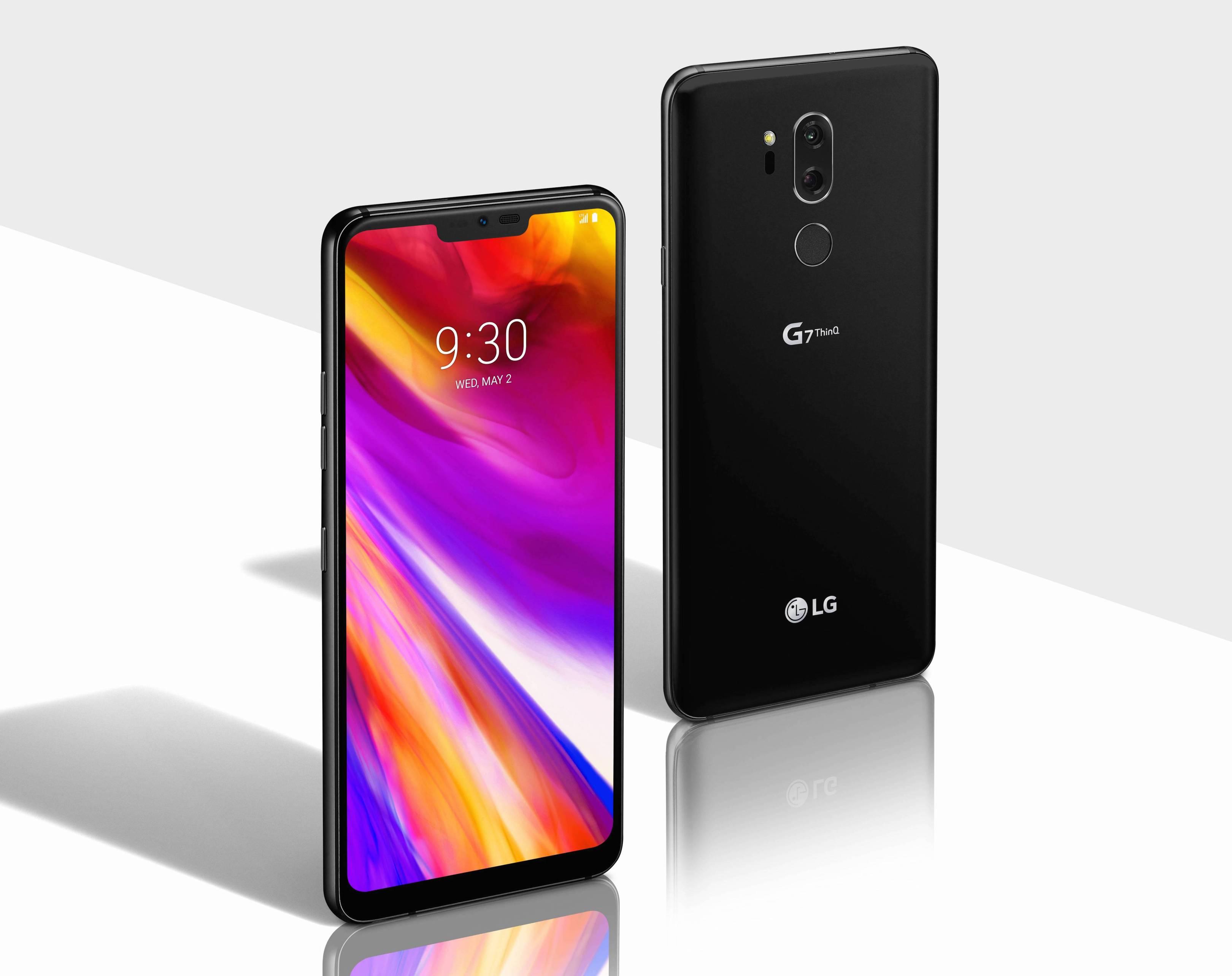 Представлен новый скучный флагман LG G7
