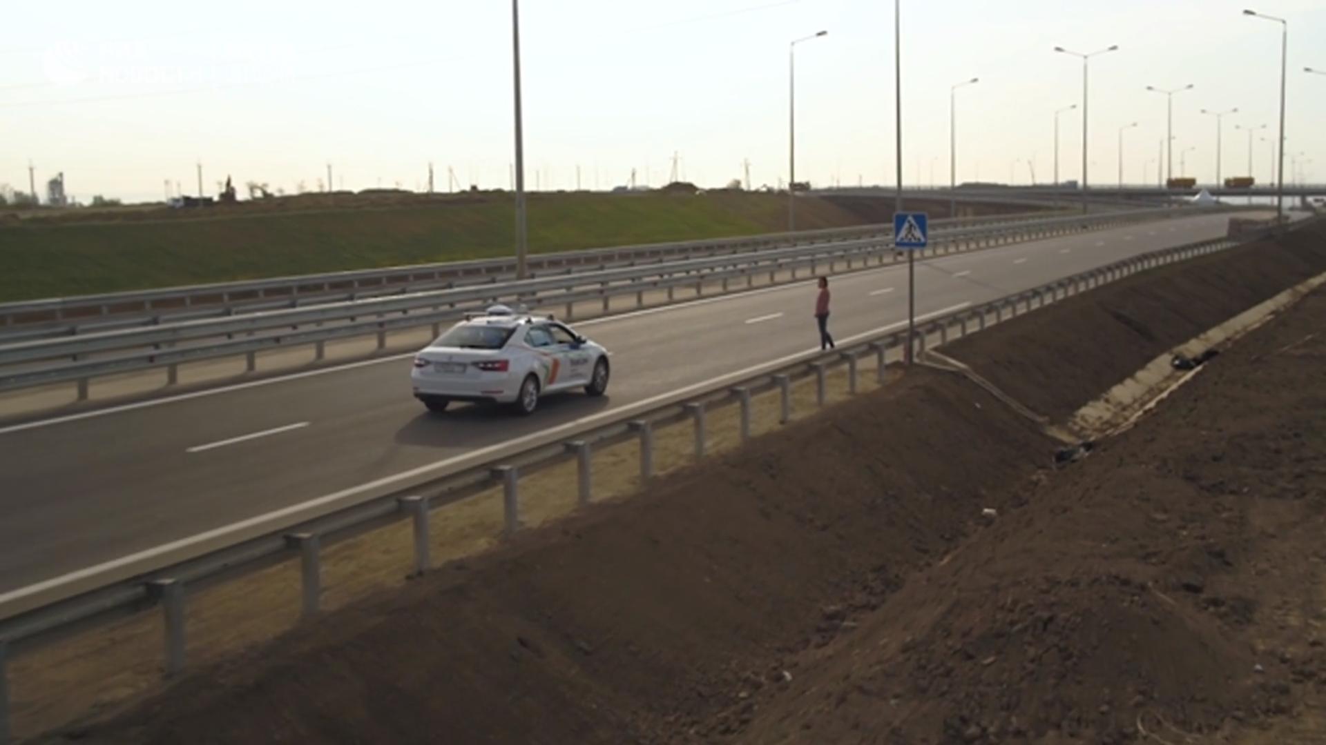Видео дня: как в России тестируют беспилотные автомобили