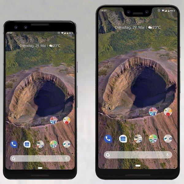 Google раскрыла подробности смартфонов Pixel 3 и Pixel 3 XL