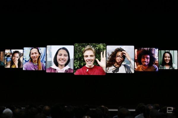 В FaceTime на гаджетах Apple появилась возможность создания группового видеочата