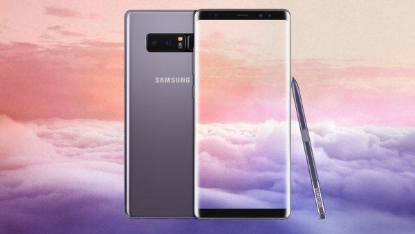 Флагманский Samsung Galaxy Note 9 впервые показали на рендерах