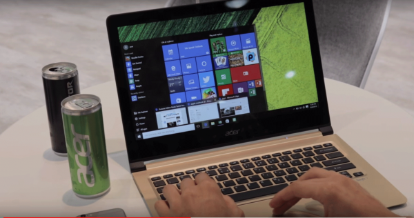 В России продают самый тонкий ноутбук в мире - Acer Swift 7