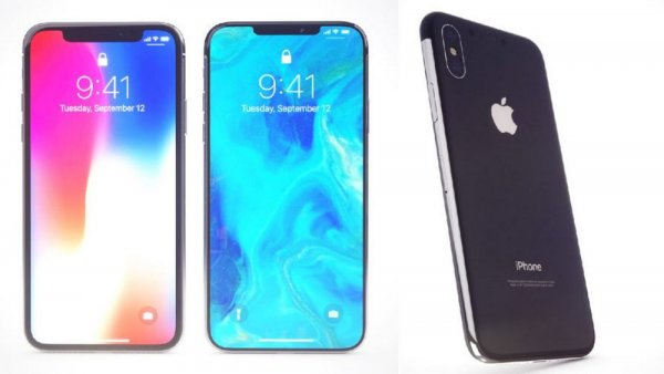 Меньше «чёлка», больше батарея: В сеть «слили» рендеры новых iPhone