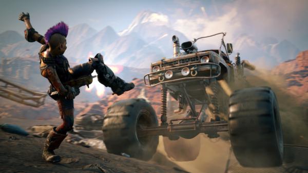 Безумие и постапокалипсис: На E3 показали дебютный геймплей шутера Rage 2