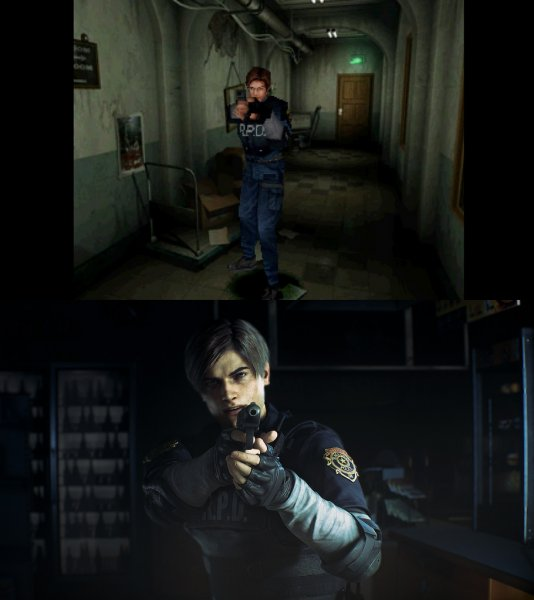 Capcom сравнила графику оригинала и ремейка Resident Evil 2
