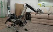 Черный робот-пес прогулялся по Ганноверу