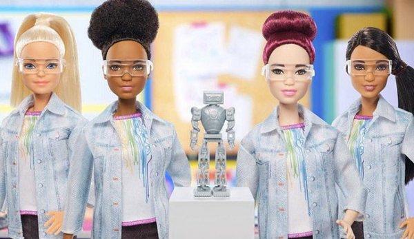 В США куклу Барби преобразили в робототехника