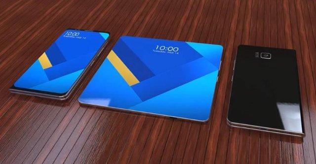 Oppo запатентовала сразу три вида складных смартфонов