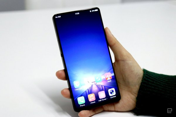 Смартфон Vivo X21i обзавелся элегантной расцветкой