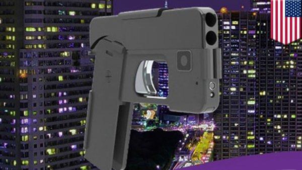 В США начались продажи пистолета-смартфона