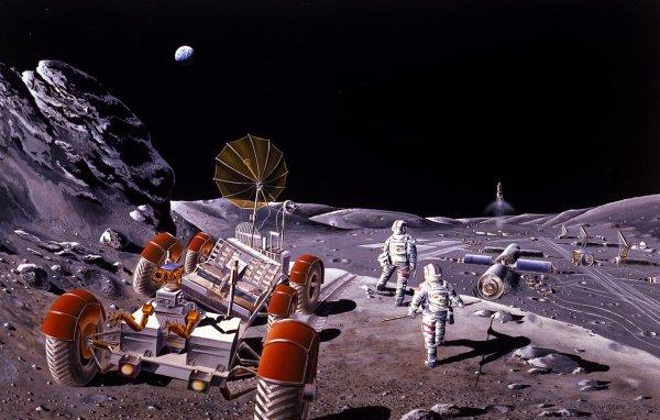 На Луне может появиться первая 4G-сеть