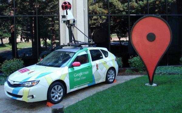 Сервис Google Maps запечатлел романтический момент пары из Италии