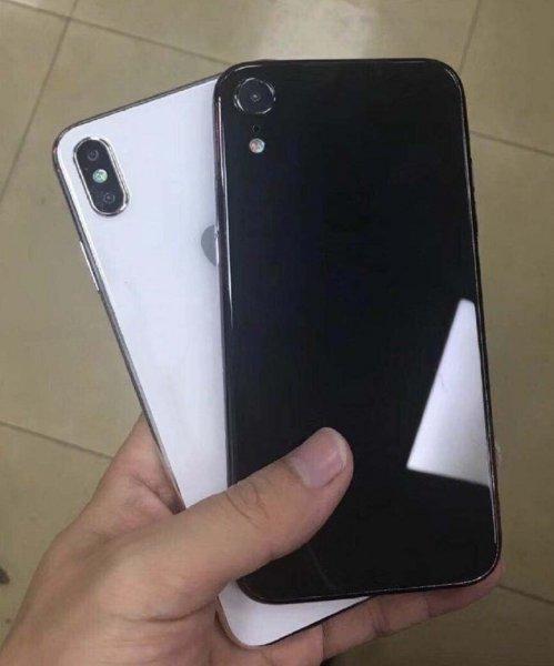 Инсайдер опубликовал «живые» фото двух новых iPhone 2018 года
