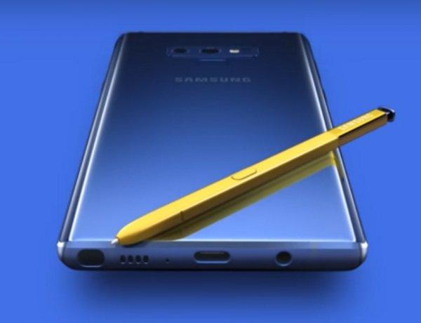 Samsung официально подтвердила сведения о 512 Гб памяти у Galaxy Note 9