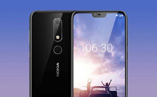 Безрамочная и похожая на iPhone X: Nokia 6.1 Plus увидит свет 21 августа