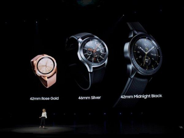 Samsung представила «умные» часы под новой маркой Galaxy Watch