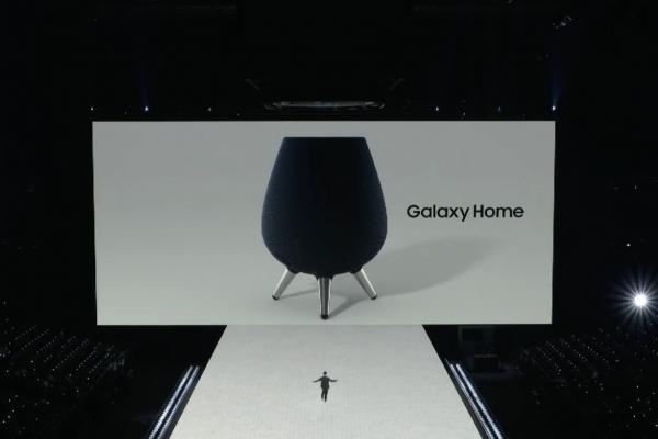 Из нее только кумыс пить: Колонку Galaxy Home высмеяли из-за нелепой формы