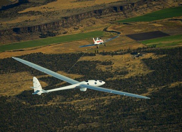 Стратосферный планер Planer 2 установил очередной рекорд высоты
