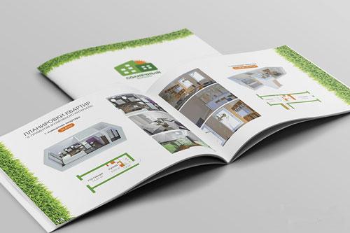 Печать рекламных буклетов и брошюр по хорошим ценам