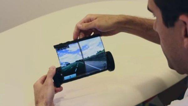 «Свитки будущего»: В Канаде создали гибкий планшет  MagicScroll