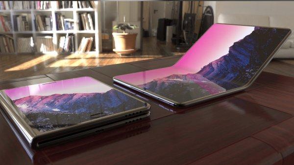Samsung обещает представить складной смартфон в конце года