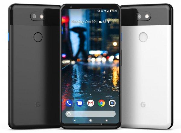 В октябре Google презентует новые смартфоны Pixel